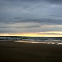 Strand bij Paal 8, Terschelling (HDR)