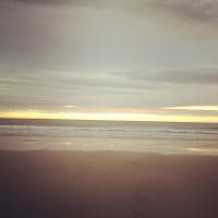 Strand bij Paal 8, Terschelling (Instagram)
