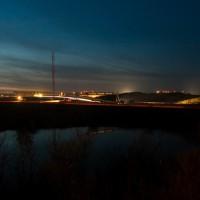 Middenterrein van circuit Zandvoort vanaf de Renaultbocht