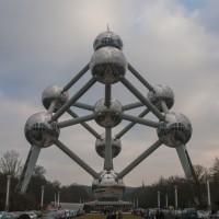 En natuurlijk mag je het Atomium niet missen in Brussel