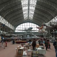 Boekenmarkt in het oorlogmuseum in Brussel