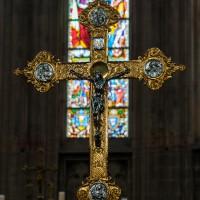 Kruis in de Onze Lieve Vrouwen Zavel in Brussel