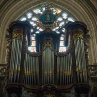 Orgel van de Onze Lieve Vrouwen Zavel in Brussel