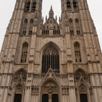 De Sintt Michiels en Goedelekathedraal in Brussel