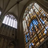 Een transept van de Sintt Michiels en Goedelekathedraal in Brussel