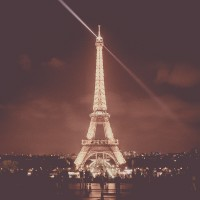 Parijs-Eiffeltoren-nacht-vintage-2235